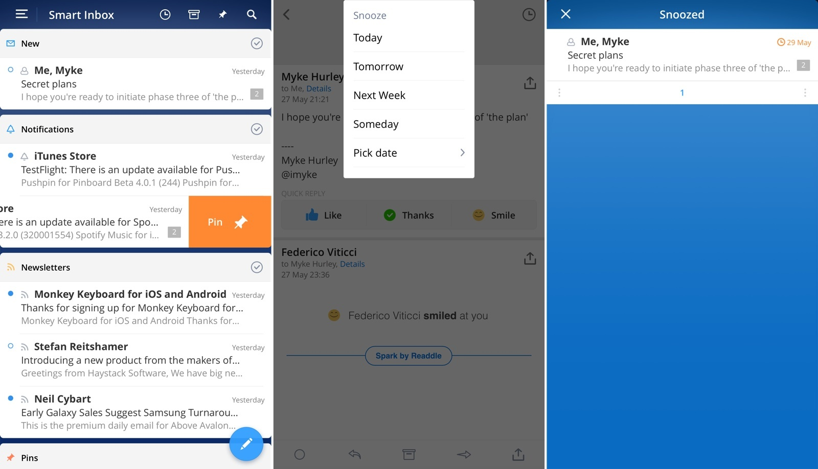 Spark Review: Smart Email – MacStories