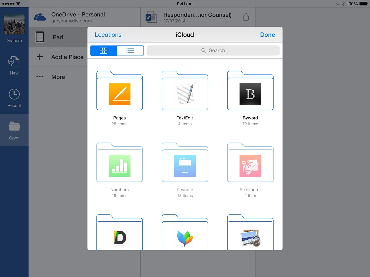 Microsoft Word Excel And Powerpoint For Ios Add Support