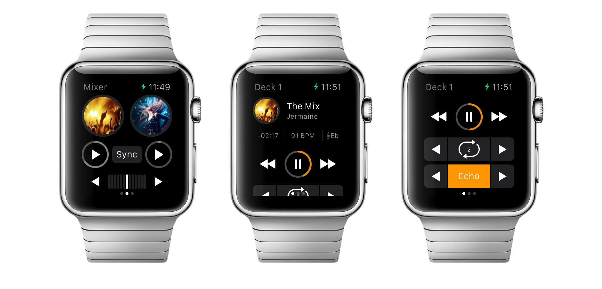 djay Comes to Apple Watch, Mac App Gains Video Mixing