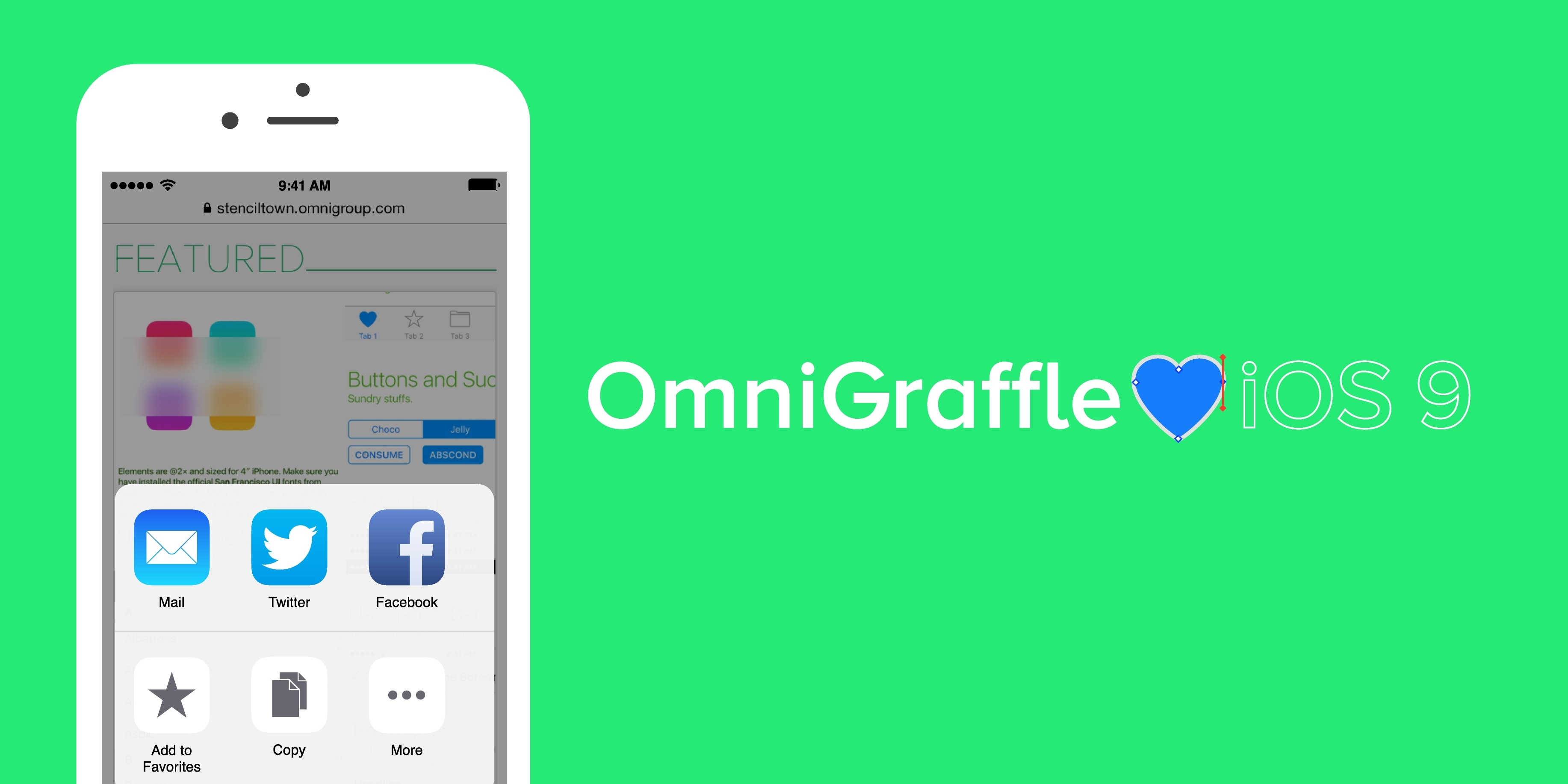 Design your next iphone app with omnigraffle sponsor for Designing an iphone app