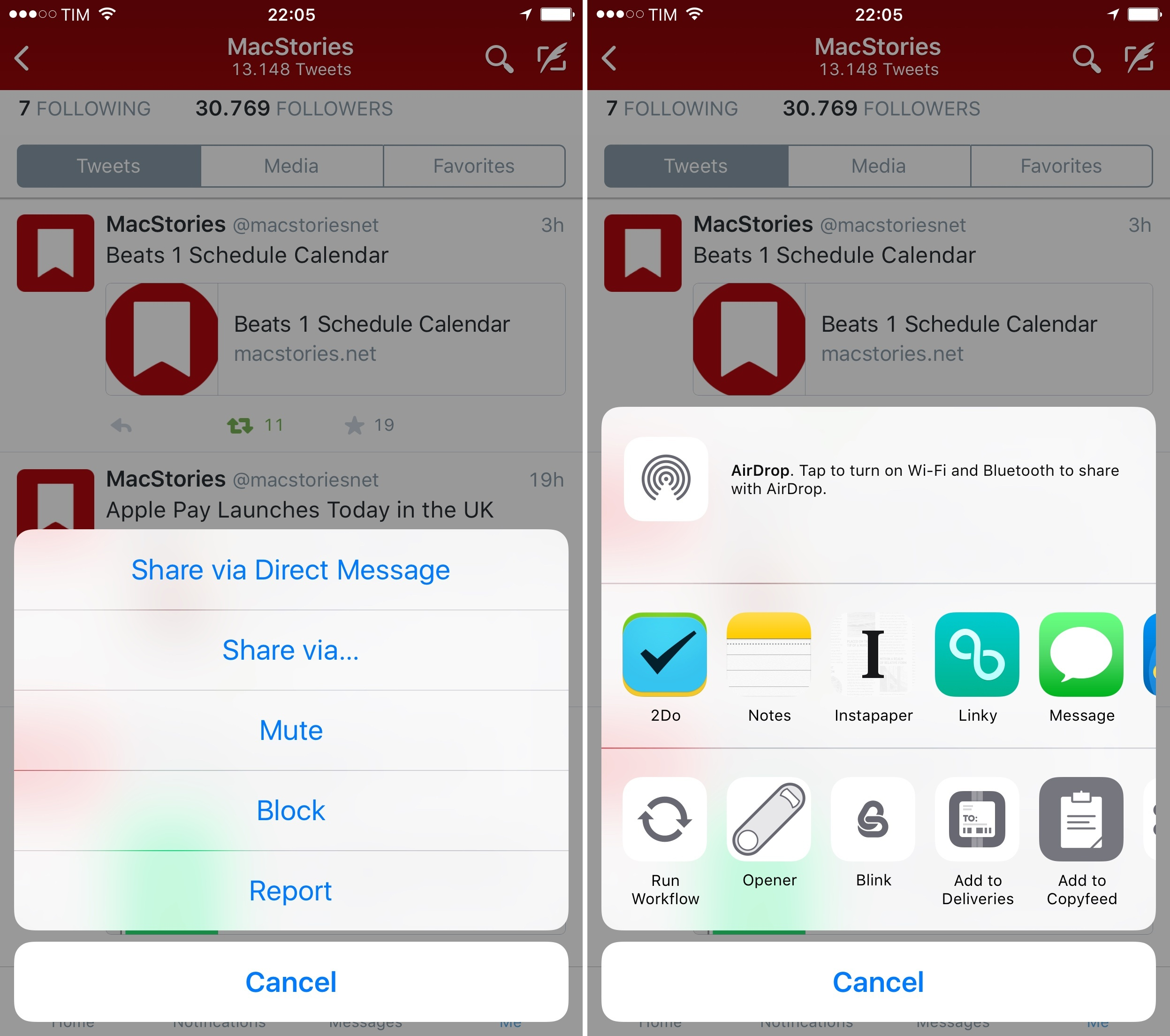 sharing apps between iphones adds ios 8 sheet support to iphone app 6820